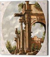 Rovine Romane Acrylic Print