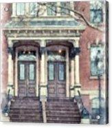 Row House Providence Rhode Island Acrylic Print
