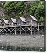 Row Of Camps Acrylic Print