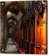 Row Of Thrones Acrylic Print