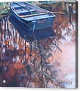 Rowboat Ashore Acrylic Print