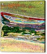 Rowboat Fluorescence 1 Acrylic Print