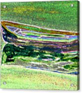 Rowboat Fluorescence 2 Acrylic Print