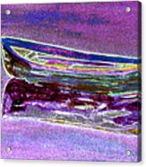 Rowboat Fluorescence 3 Acrylic Print