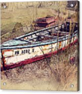 Rowboat Modified Acrylic Print