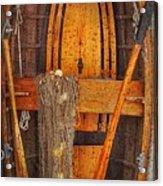 Rowboat Sandhamn Acrylic Print
