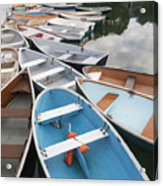 Rowboats In Quissett Harbor Acrylic Print