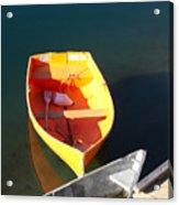 Rowboats In Rockport, Ma Acrylic Print