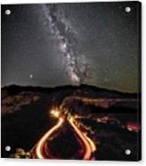 Rowena Milky Way Acrylic Print