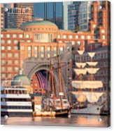 Rowes Wharf Acrylic Print