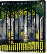 Rows Of Stone And Iron Acrylic Print