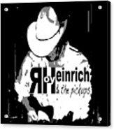 Roy Heinrich T-shirt Acrylic Print