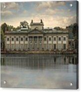 Royal Baths In Warsaw Acrylic Print