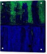 Royal Blue Acrylic Print by Marsha Heiken