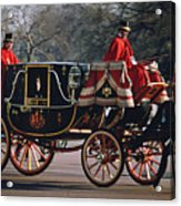 Royal Carriage At Buckingham Palace X Acrylic Print