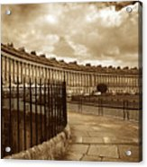 Royal Crescent Bath Somerset England Uk Acrylic Print