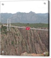 Royal Gorge Acrylic Print