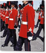 Royal Guards In Ottawa Acrylic Print