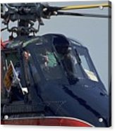 Royal Helicopter Acrylic Print