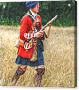 Royal Highlanders 77th Regiment Of Foot  Acrylic Print