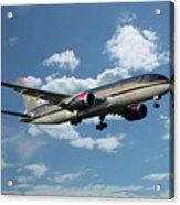 Royal Jordanian 787 Jy-baf Acrylic Print