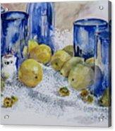 Royal Lemons Acrylic Print