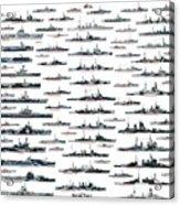 Royal Navy Ww2 Acrylic Print