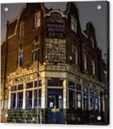 Royal Oak Pub Columbia Road London Acrylic Print