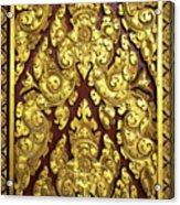 Royal Palace Gilded Door 02 Acrylic Print