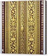 Royal Palace Gilded Doors Acrylic Print
