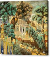 Royal Palace Ramayana 12 Acrylic Print