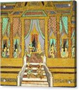 Royal Palace Ramayana 21 Acrylic Print