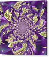 Royal Purple  Acrylic Print by Rose  Hill