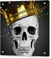 Royal Skull Acrylic Print