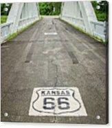 Rt. 66 Rainbow Bridge Acrylic Print