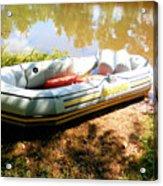 Rubber Boat 1 Acrylic Print