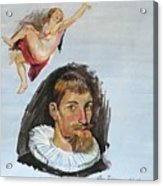 Rubens Copy Acrylic Print