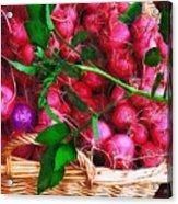 Rubies Organic Acrylic Print