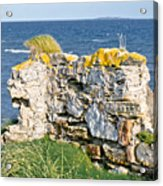 Ruby Bay. Leftovers Of The Wall. Acrylic Print