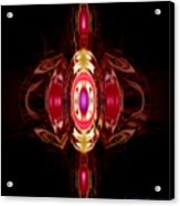 Ruby-- Gem Series Acrylic Print