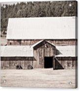 Ruckle Barn Acrylic Print