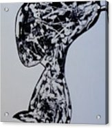Rude Boy B/w Acrylic Print