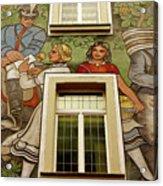 Rudesheim Mural Acrylic Print