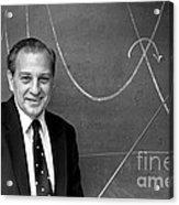 Rudolph Marcus, American Chemist Acrylic Print