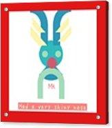 Rudolph Acrylic Print