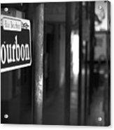 Rue Bourbon Acrylic Print
