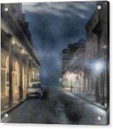 Rue Brumeuse Acrylic Print