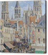 Rue De L'epicerie, Rouen Acrylic Print