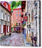 Rue Du Cul De Sac Acrylic Print