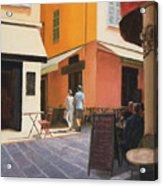 Rue En Nice Acrylic Print